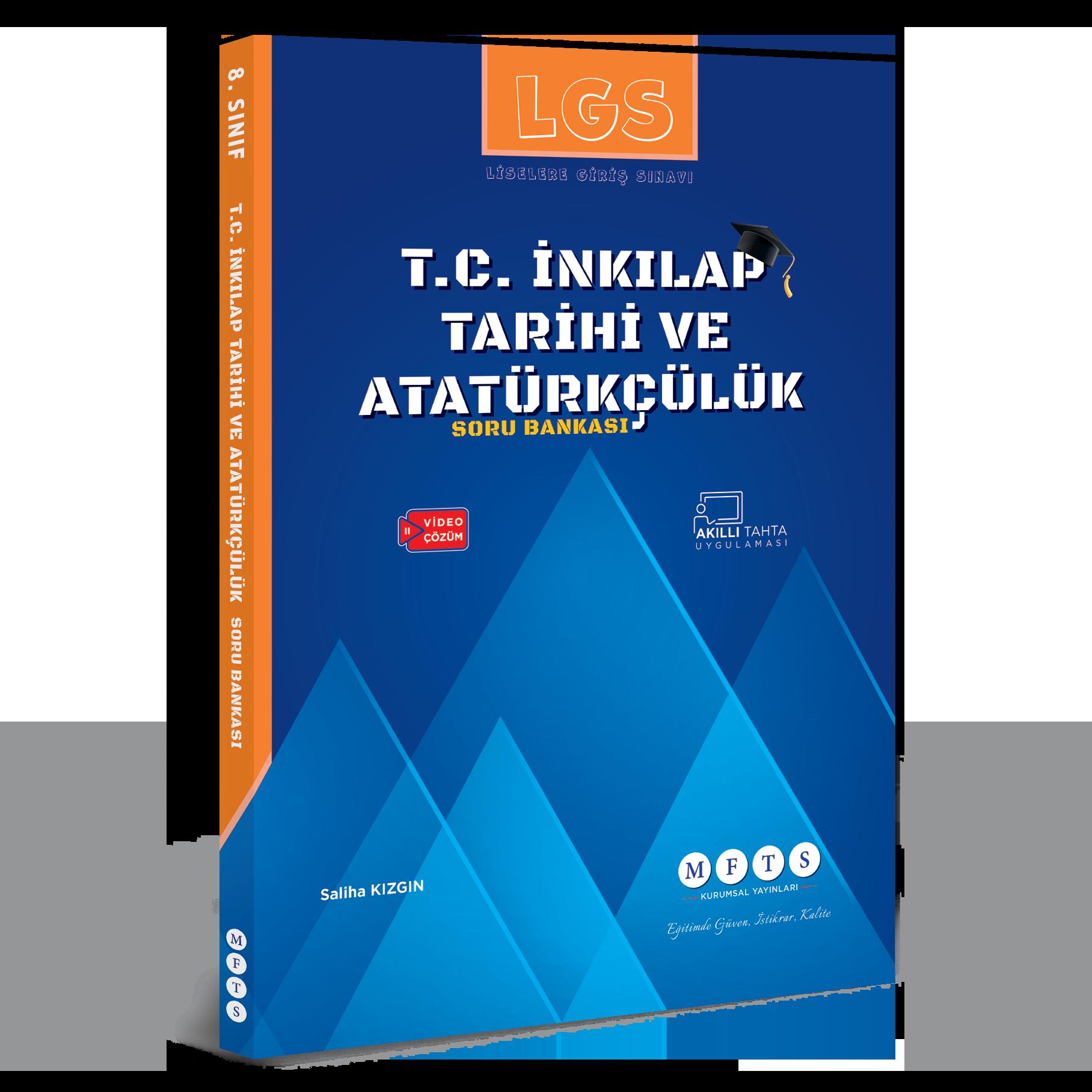 fenbilimlerimerkezi.net yayinlar: LGS T.C. İnkılap Tarihi ve Atatürkçülük Soru Bankası