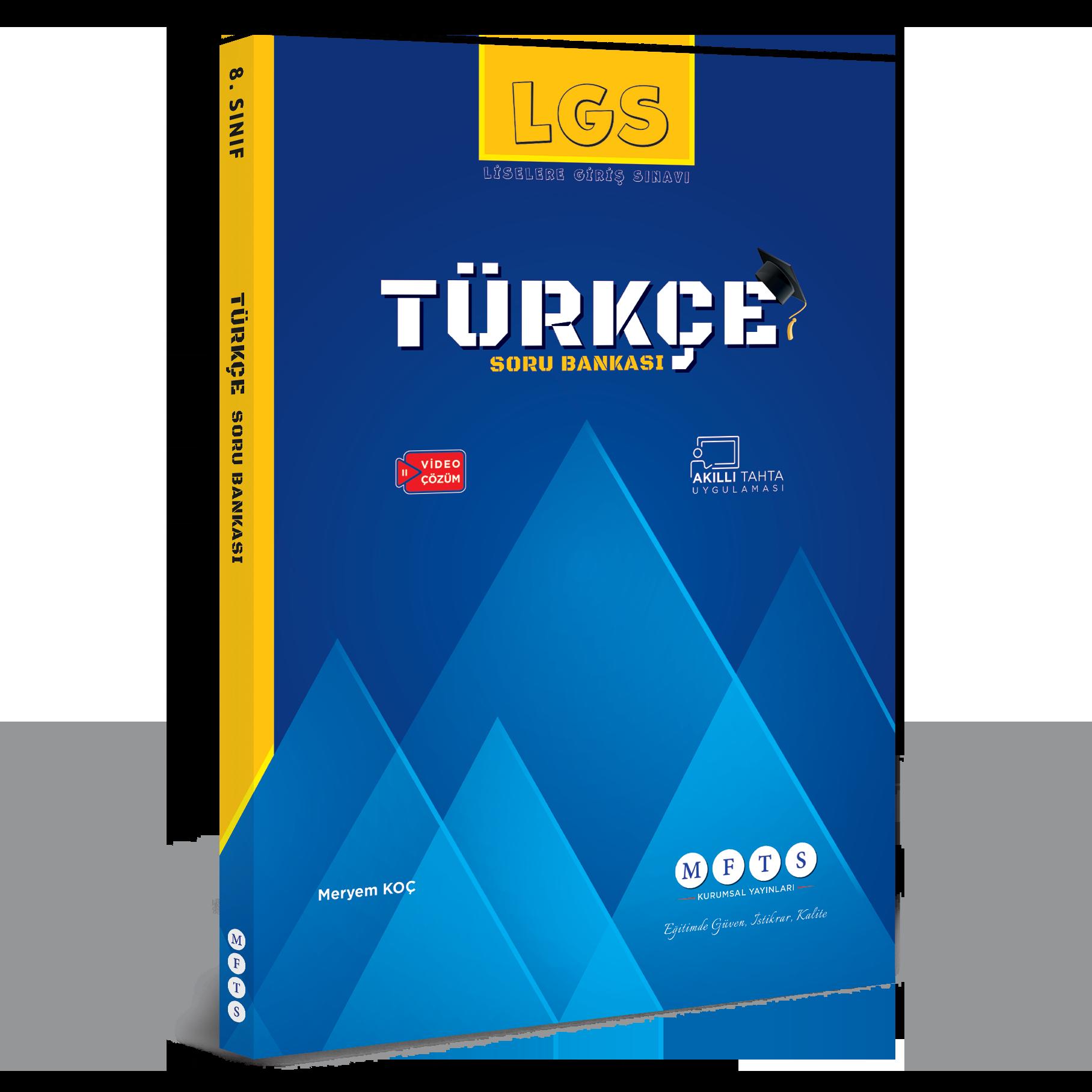 fenbilimlerimerkezi.net yayinlar: LGS Türkçe Soru Bankası